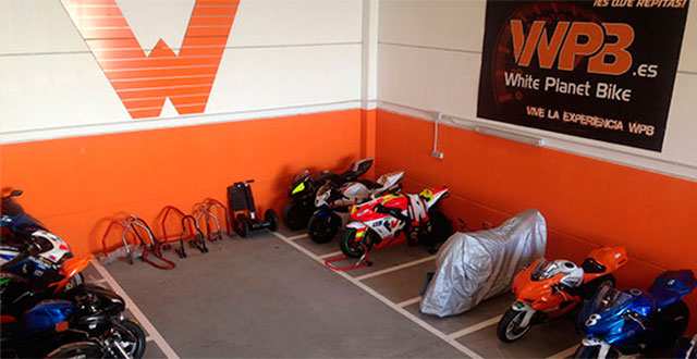 Parking anual de motos