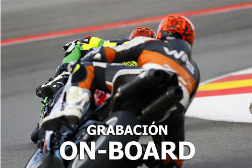 Grabacion on-board motos